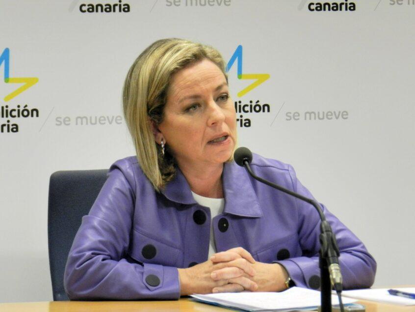 Ana Oramas afirma que las políticas en materia de empleo deben ser diferentes para el archipiélago