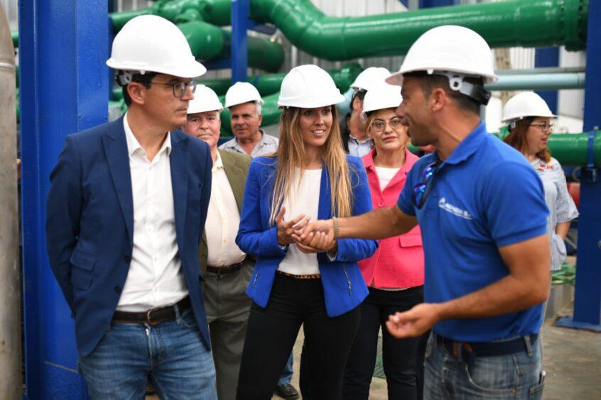 María Fernández exige al Estado la firma del convenio de obras hidráulicas