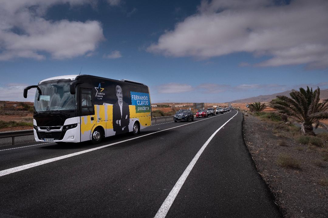 Caravana en Fuerteventura