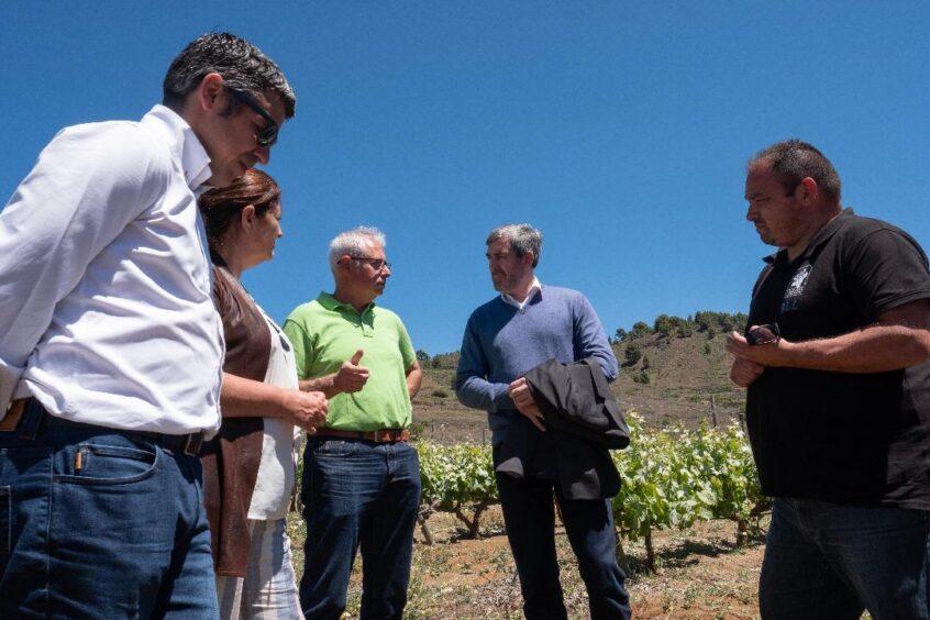 Fernando Clavijo visita la isla de El Hierro