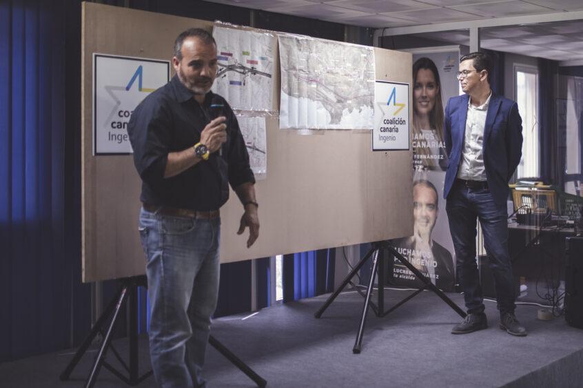 Pablo Rodríguez:  El Gobierno de CC ha incorporado actuaciones viarias que mejoran las conexiones de Ingenio