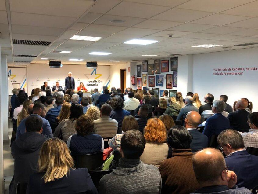 Más de 160 jóvenes integran las listas electorales de CC-PNC entre todos los municipios en Tenerife