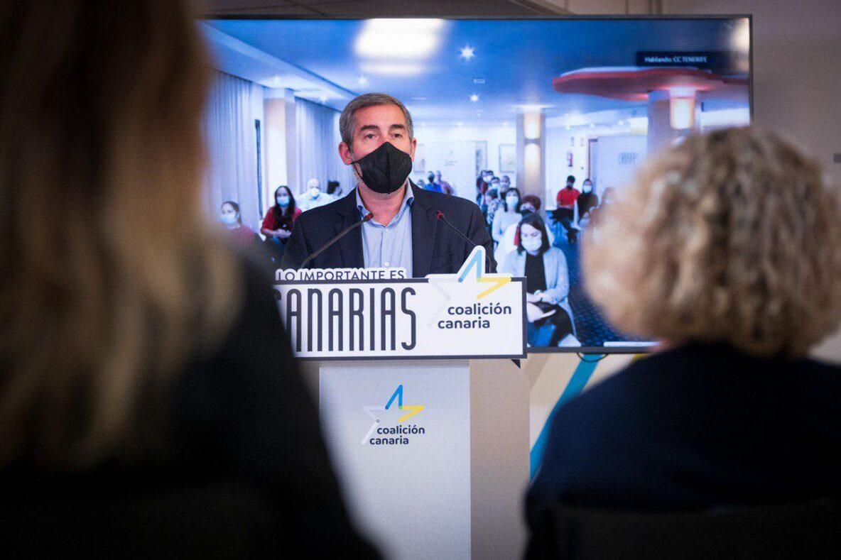 Fernando Clavijo, nuevo Secretario general de Coalición Canaria